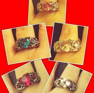 Jewelry - Heart Ring Bundle